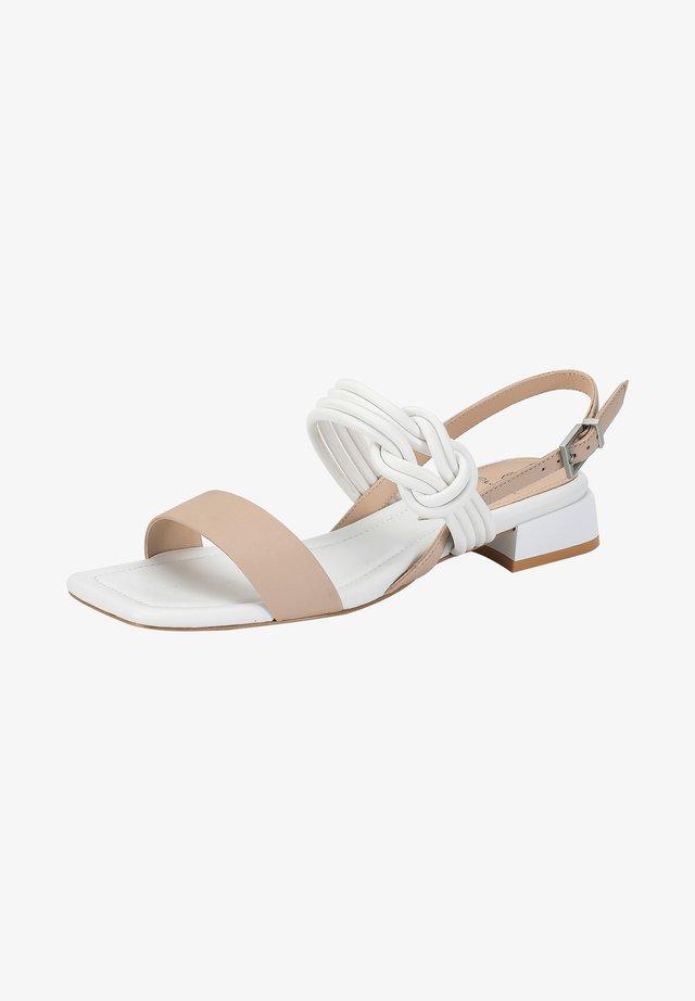 Sandals - moonlight-white