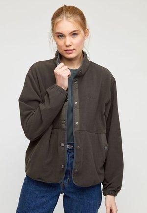SURREY  - Fleece jacket - black olive