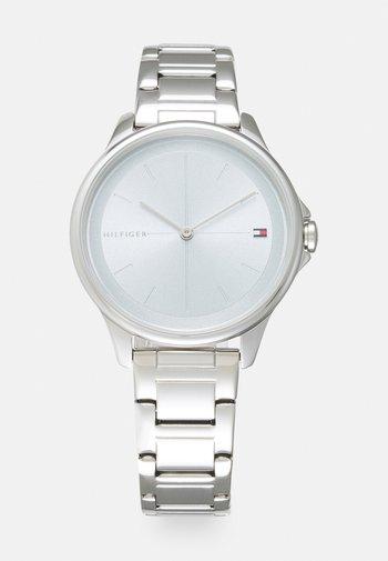 DELPHINE - Watch - silver-coloured/light blue