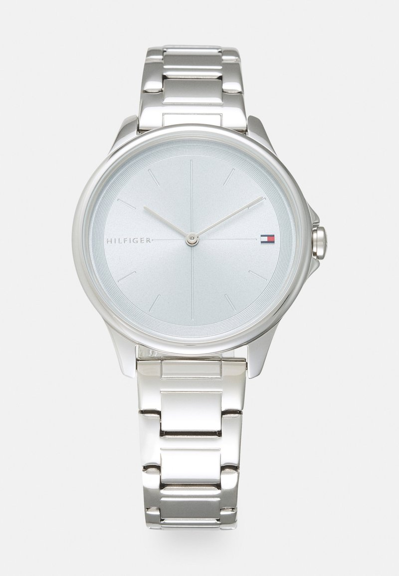 Tommy Hilfiger - DELPHINE - Watch - silver-coloured/light blue