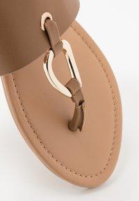 New Look - FANCY - Sandály s odděleným palcem - tan - 2