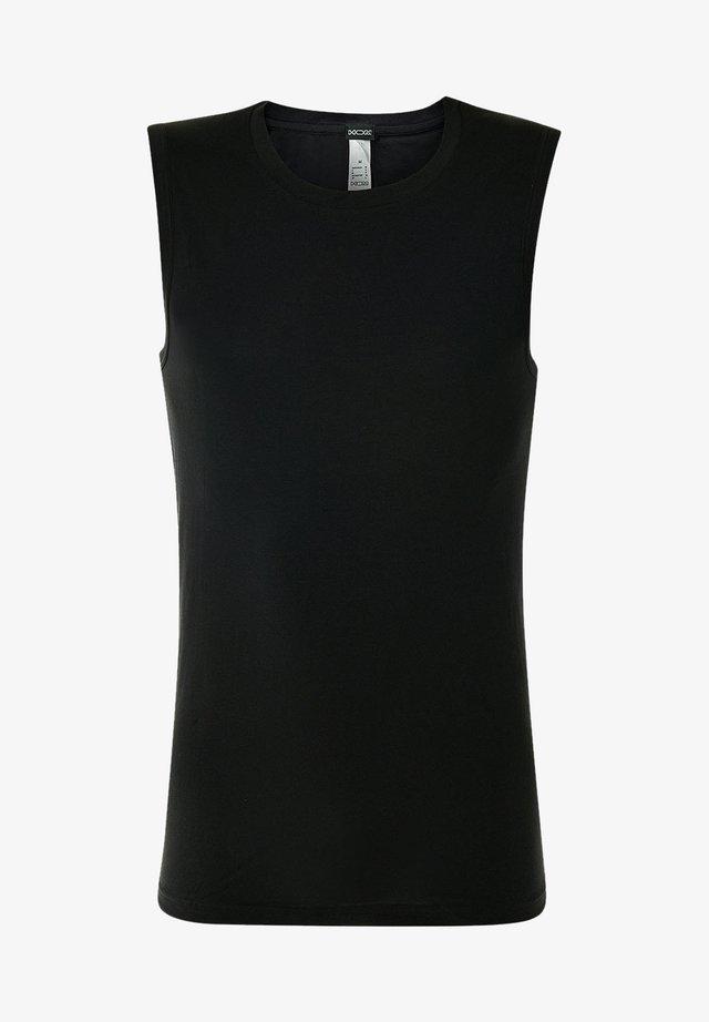 Unterhemd/-shirt - schwarz