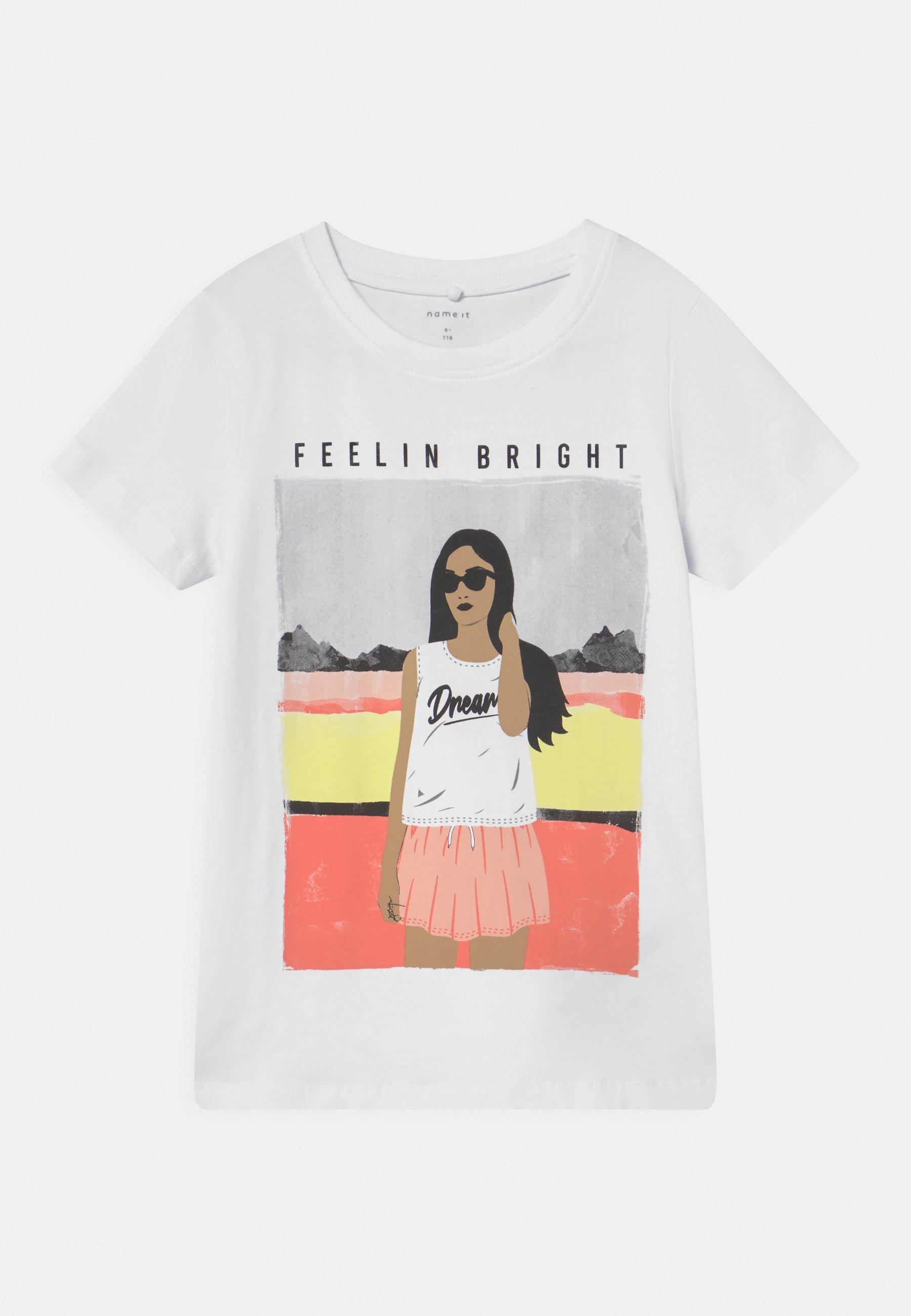 Kids NKFFASIGNE  - Print T-shirt