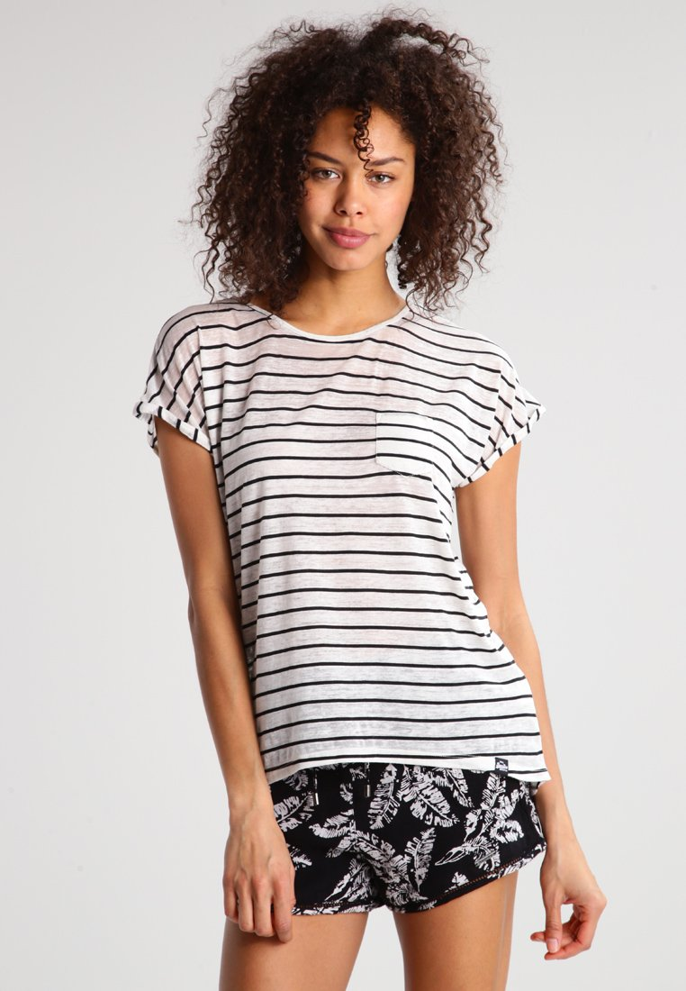 Damen SCOOP HEM TEE - T-Shirt print