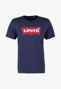 Levi's® - GRAPHIC SET-IN NECK - T-shirt print - graphic dress blues - 4