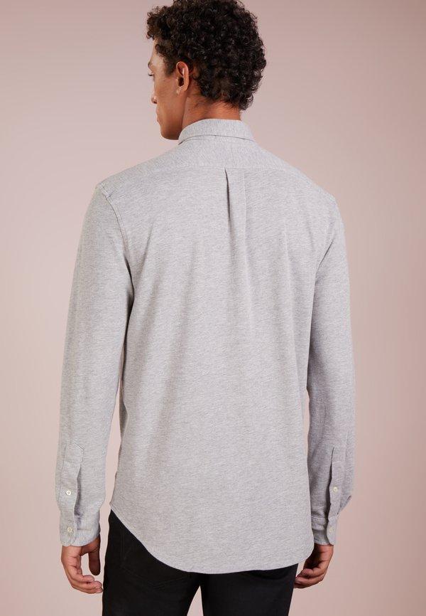 Polo Ralph Lauren LONG SLEEVE - Koszula - andover heather/jasnoszary melanż Odzież Męska WWPN