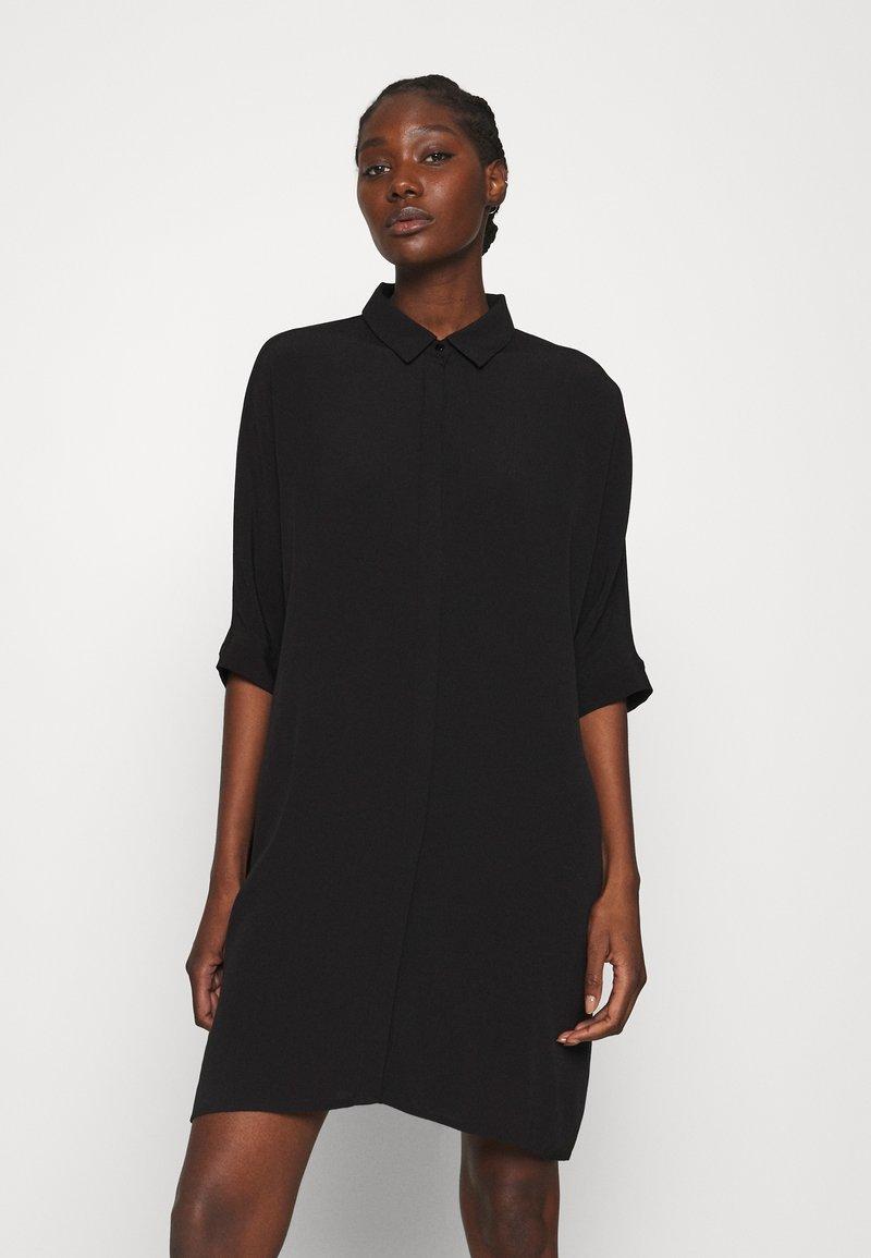 Zign - Skjortklänning - black