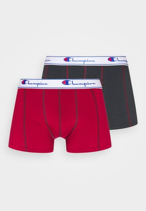 2 PACK - Shorty - red/black