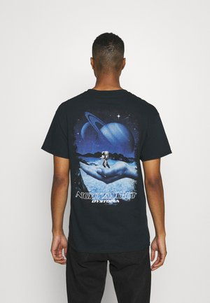 DYSTOPA - T-shirt con stampa - black