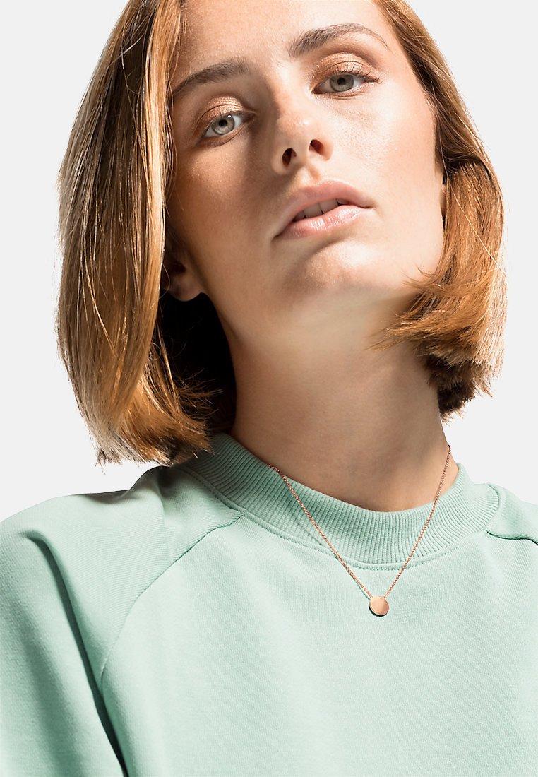 QOOQI - Necklace - rose gold-coloured