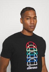 Ellesse - MAGARIO TEE - Print T-shirt - black - 3