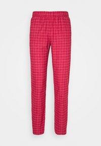 MIX & MATCH TAPERED - Pyjama bottoms - rosso masai