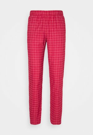 MIX & MATCH TAPERED - Pantaloni del pigiama - rosso masai