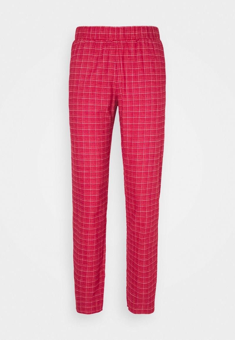 Triumph - MIX & MATCH TAPERED - Pyjama bottoms - rosso masai