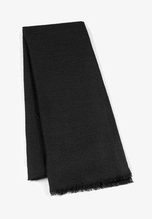 RING PASHMINA - Scarf - black