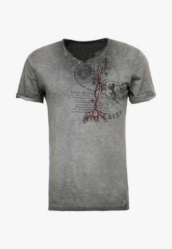 WEAPON - Print T-shirt - anthrazit