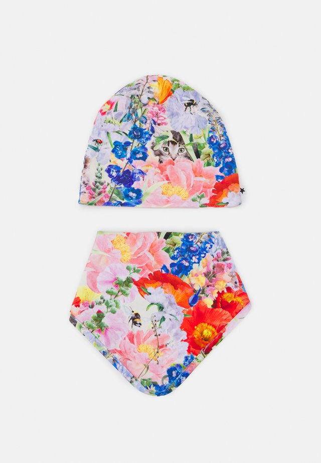 NOON BIB AND HAT SET UNISEX - Čepice - hide and seek