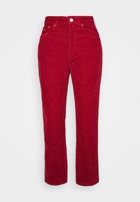 HARPER STRAIGHT ANKLE - Trousers - wine red