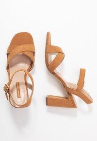 Dorothy Perkins - SELENA BLOCK  - High heeled sandals - tan - 3