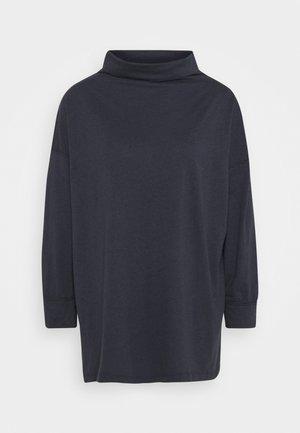 FUNNEL NECK TUNIC - Topper langermet - washed black
