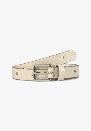 Belt - ecru uni