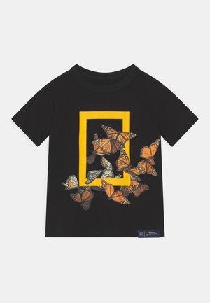TODDLER BOY NATIONAL GEOGRAPHIC - Camiseta estampada - true black