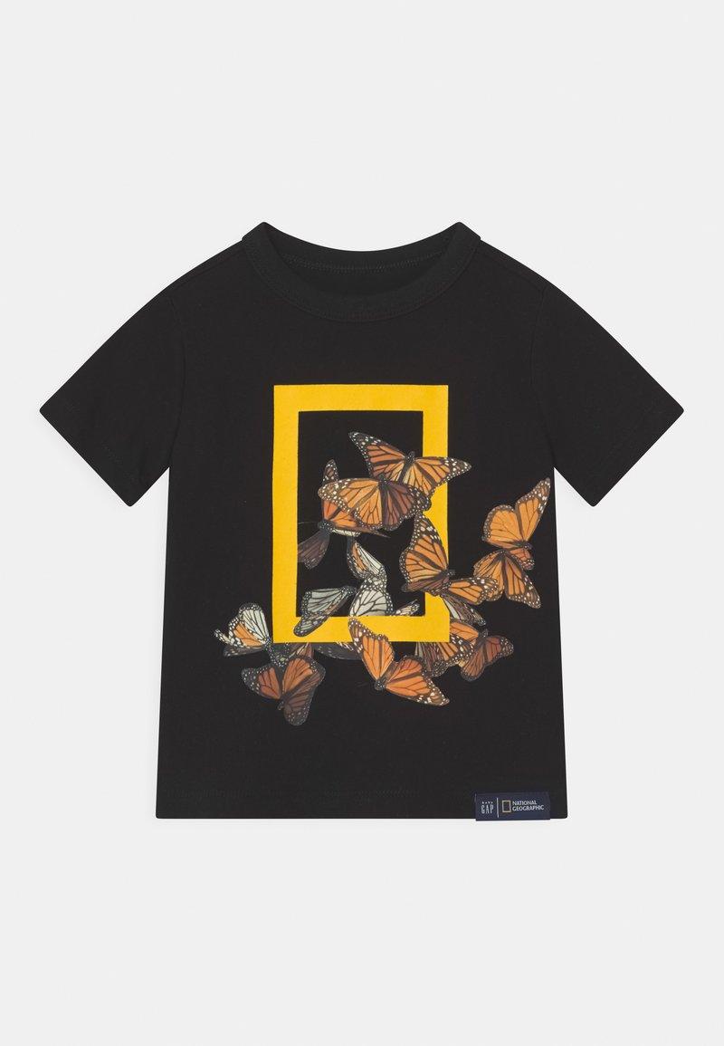 GAP - TODDLER BOY NATIONAL GEOGRAPHIC - Print T-shirt - true black