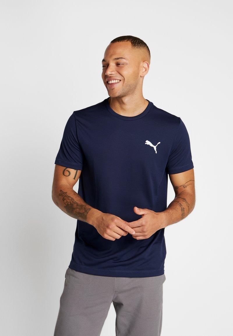 Puma - ACTIVE TEE - T-shirts basic - peacoat