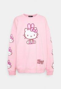 HELLO BUNNY - Sweatshirt - pink