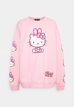 HELLO BUNNY - Mikina - pink