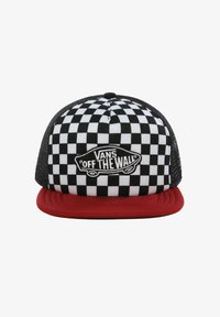 Vans - BY CLASSIC PATCH TRUCKER - Casquette - chili pepper-checkerboard - 0