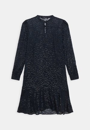 ALEXANDRIA CAMARI DRESS - Košilové šaty - navy blue