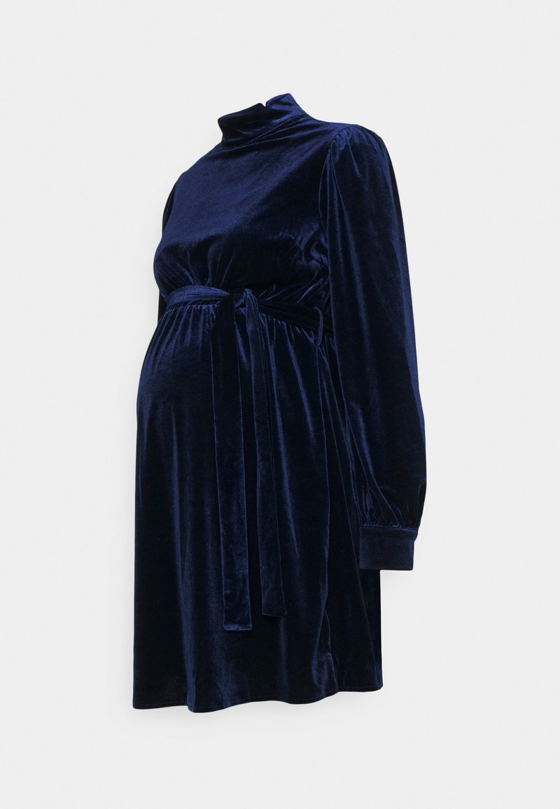 Missguided Maternity - BALLOON DRESS - Cocktail dress / Party dress - navy