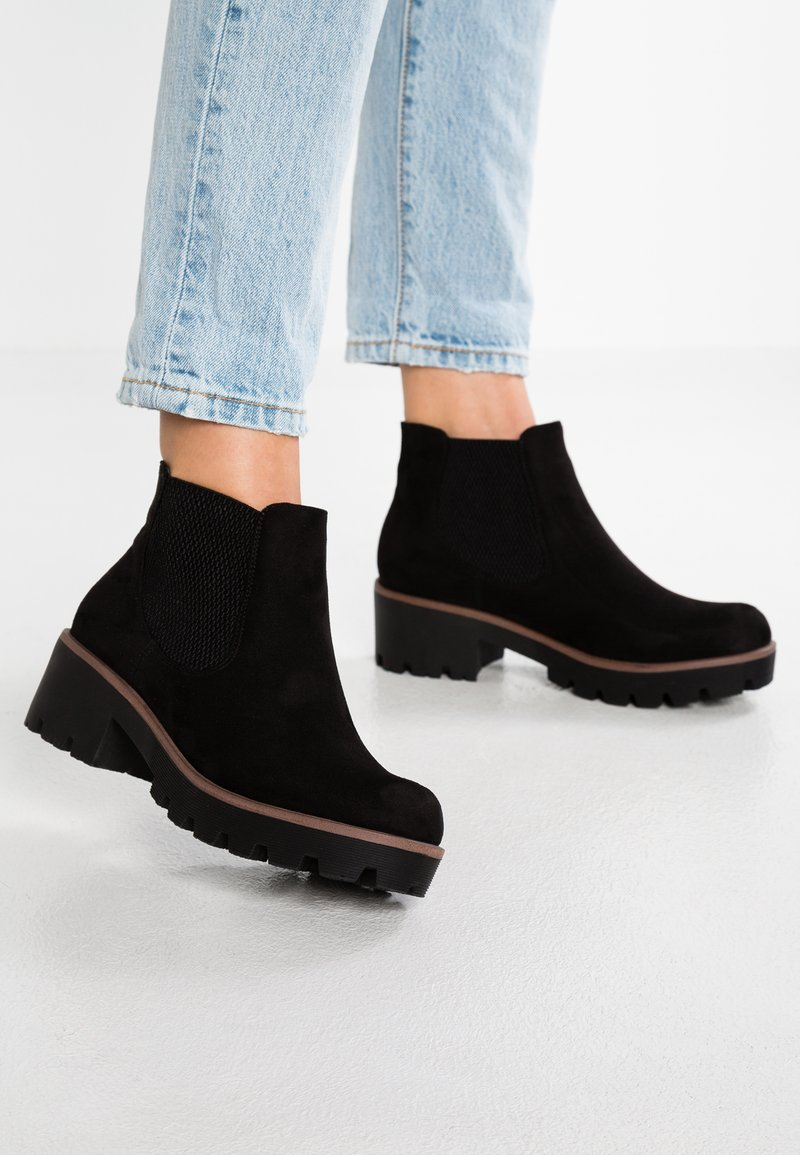 Rieker - Kotníková obuv - black