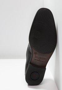 Bugatti - SAVIO EVO - Smart lace-ups - black - 4