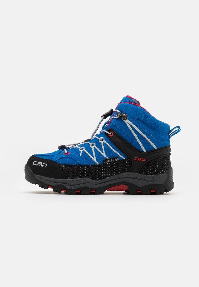 KIDS RIGEL MID SHOE WP UNISEX - Zapatillas de senderismo - cobalto/stone/fire