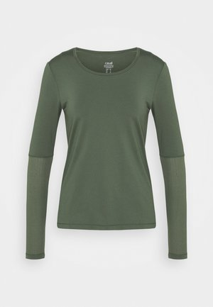 ICONIC - T-shirt à manches longues - northern green