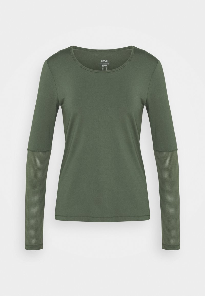Casall - ICONIC - Long sleeved top - northern green