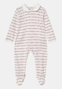 Petit Bateau - DORS BIEN PONT DOS - Sleep suit - marshmallow/terkuit - 0