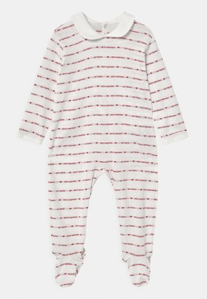 DORS BIEN PONT DOS - Sleep suit - marshmallow/terkuit