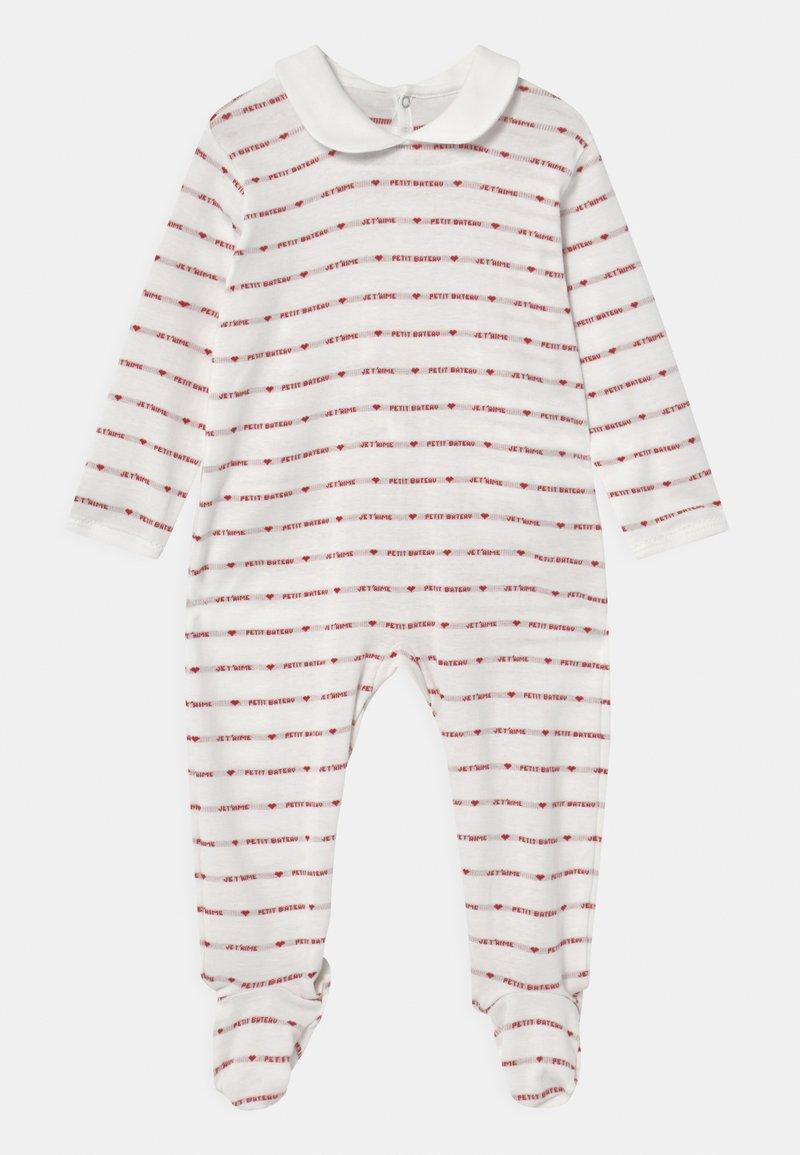 Petit Bateau - DORS BIEN PONT DOS - Sleep suit - marshmallow/terkuit