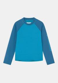 Columbia - SANDY SHORES™ LONG SLEEVE UNISEX - Rash vest - ocean blue/bright indigo - 0