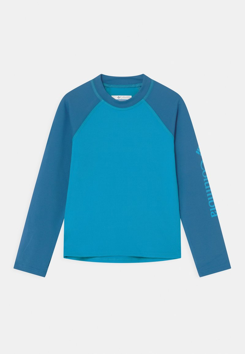 Columbia - SANDY SHORES™ LONG SLEEVE UNISEX - Rash vest - ocean blue/bright indigo
