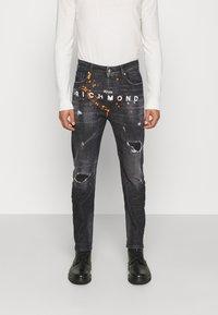 John Richmond - BALKIR MICK - Slim fit jeans - denim black - 0