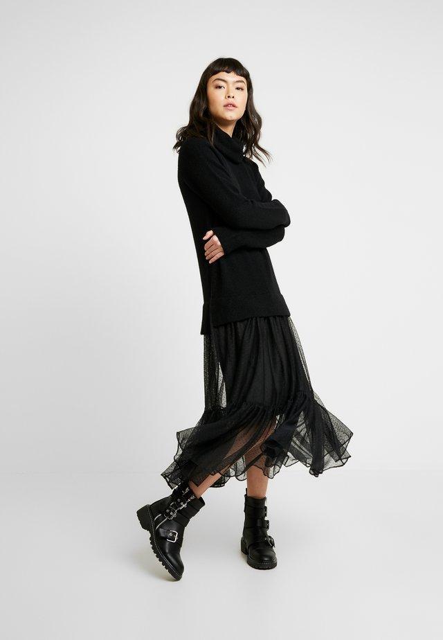 TULA DRESS - Day dress - black