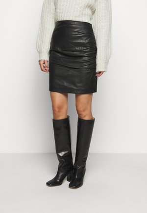 CLARISSE THINKTWICE - Miniskjørt - black