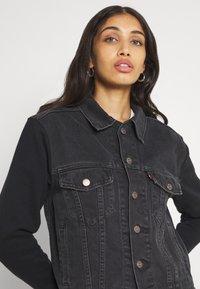 Levi's® - EX BF HYBRID TRUCKER - Giacca di jeans - dark spot - 3