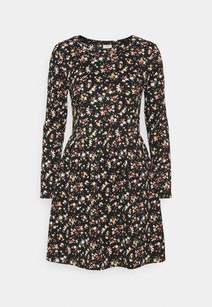JDYCLAUDE DRESS - Jersey dress - black