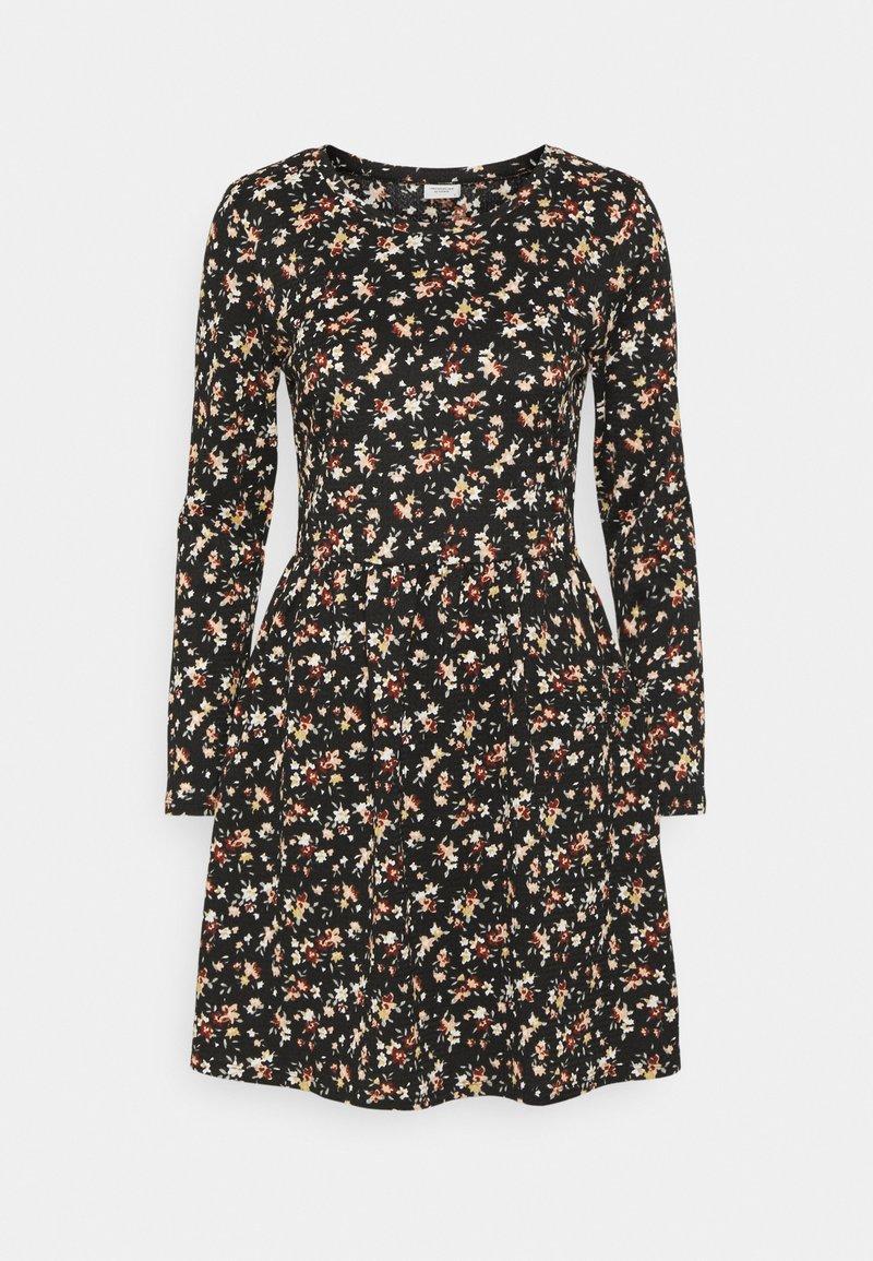 JDY - JDYCLAUDE DRESS - Jersey dress - black