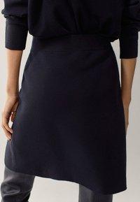Massimo Dutti - Mini skirt - black - 2
